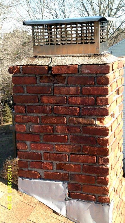 1-21 cracked chimney fairfield