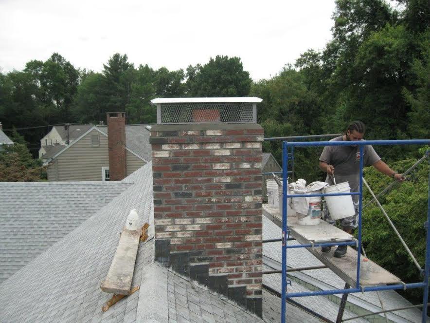 completed chimney restoration
