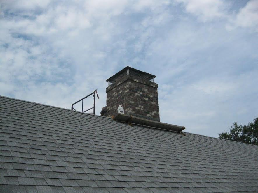 chimney crown and cap