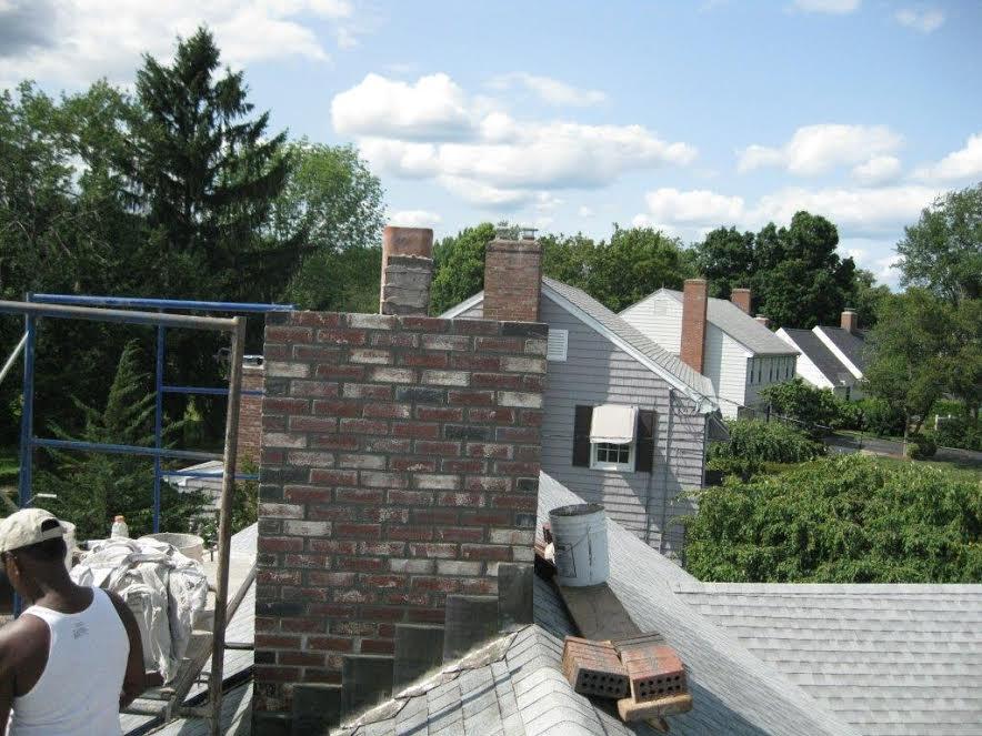 building chimney
