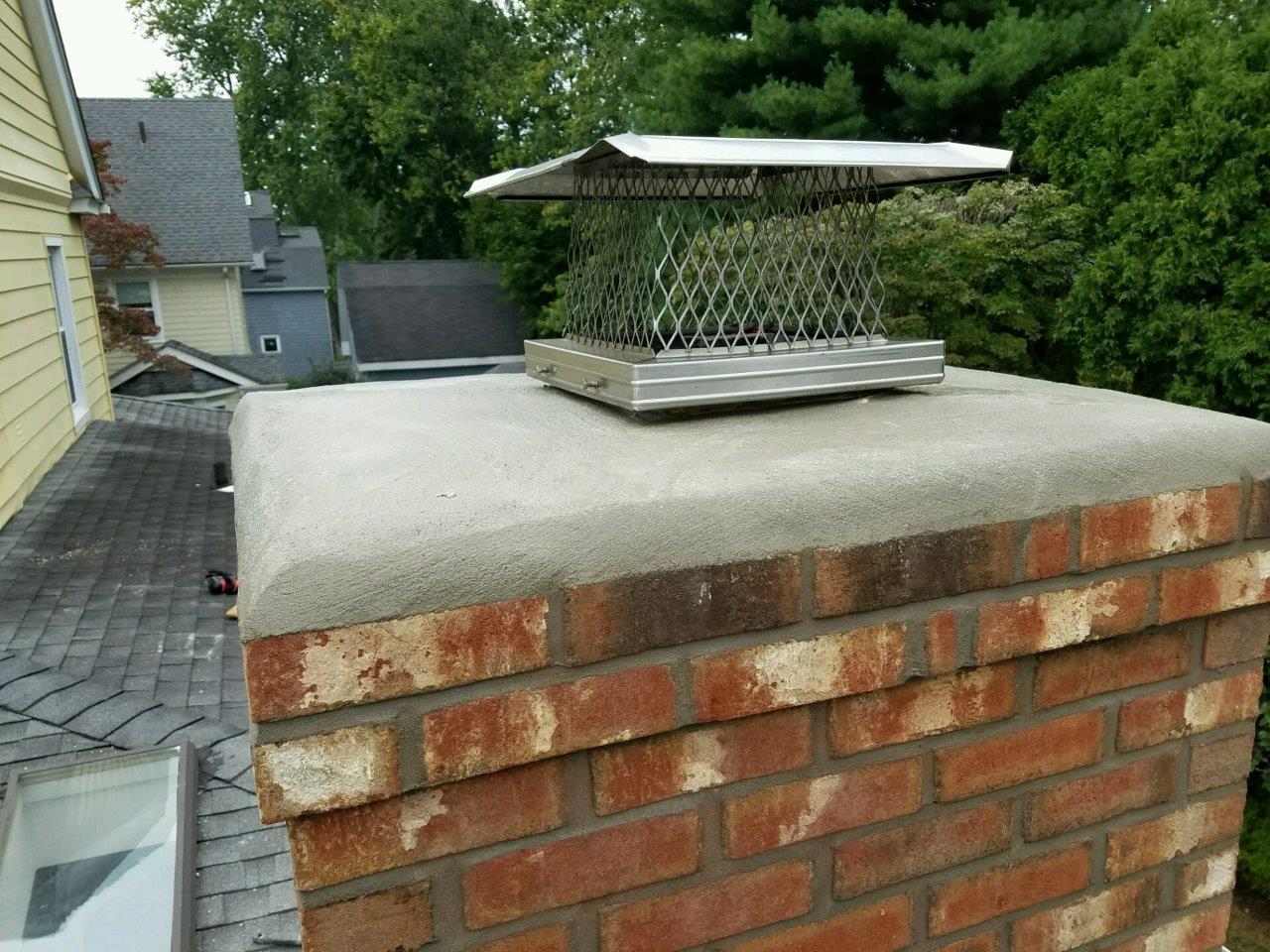 Chimney Crown Repair Safeside Chimney Of Ct