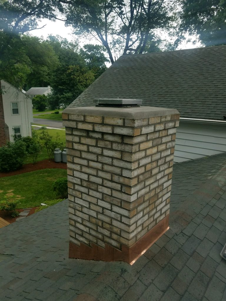 Chimney Restoration Project In West Hartford Ct Chimney
